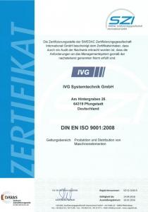 SZI-Q-1630-A-Zertifikat-IVG-Systemtechnik